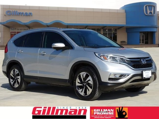Used 2016 Honda CR-V Touring FWD SUV near San Antonio, TX