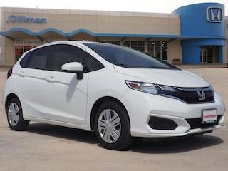 New 2019 Honda Fit LX Hatchback 00H91028 near San Antonio