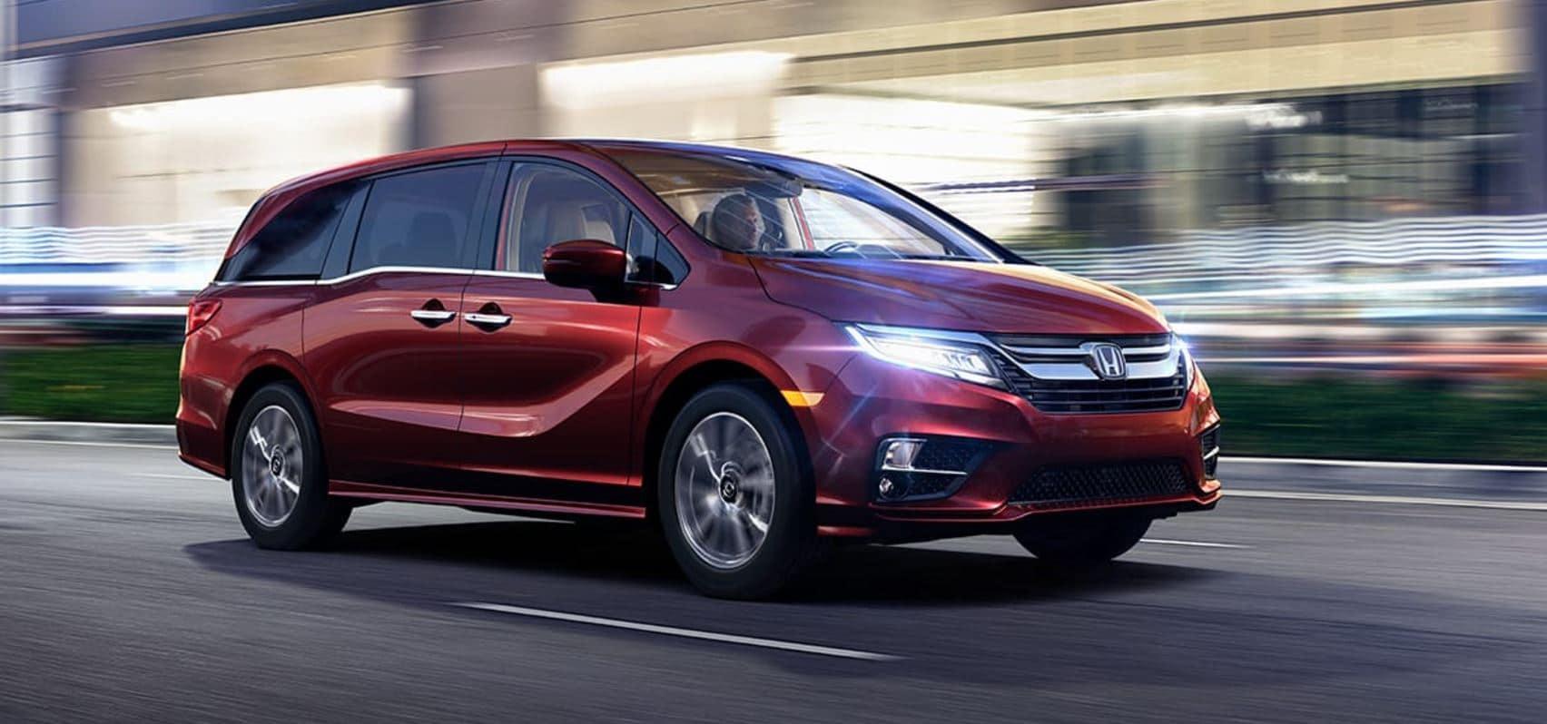 Preview The 2018 Honda Odyssey
