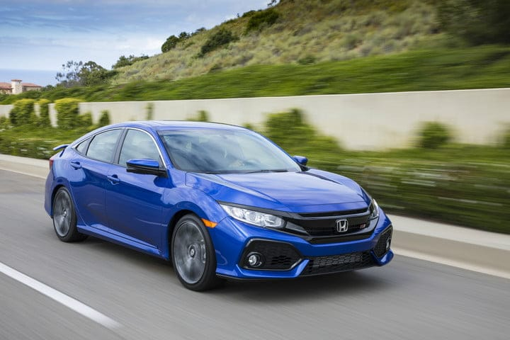2018 Honda Civic Powertrain Options