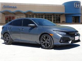 New 2019 Honda Civic Sport Touring Hatchback 00H90369 near San Antonio