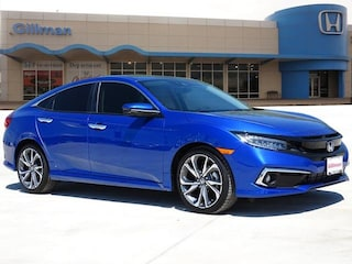 New 2019 Honda Civic Touring Sedan 00H90593 near San Antonio