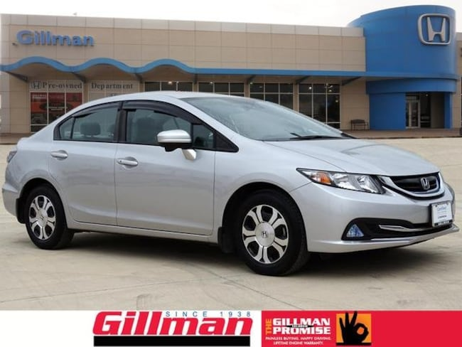 Certified Pre-Owned 2015 Honda Civic Hybrid Base Sedan in San Antonio