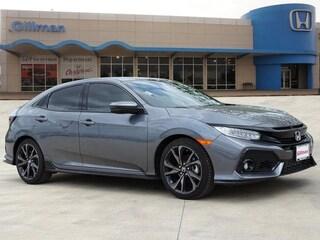 New 2018 Honda Civic Sport Touring Hatchback 00H82009 near San Antonio
