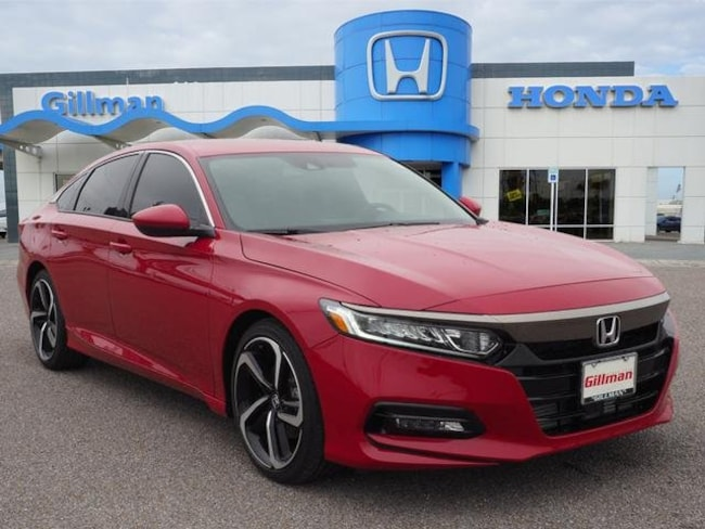 New  2018 Honda Accord Sport Sedan near Harlingen, TX