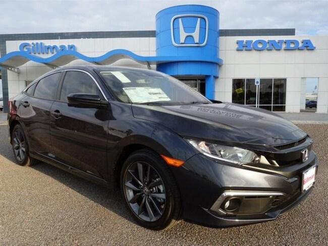 New  2019 Honda Civic EX-L Sedan near Harlingen, TX