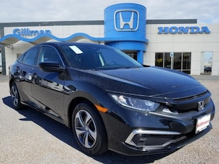 New 2019 Honda Civic LX Sedan 00190247 near Harlingen, TX