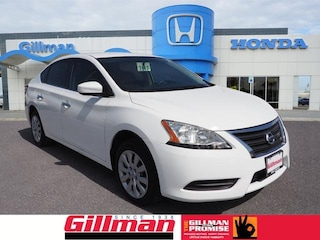 Used 2015 Nissan Sentra S Sedan 0190224A near Harlingen, TX