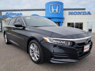 New 2018 Honda Accord LX Sedan 0P180951 near Harlingen, TX