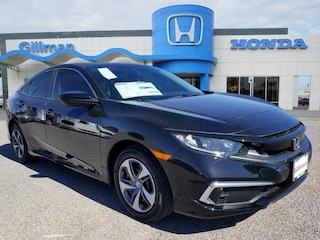 New 2019 Honda Civic LX Sedan 00190246 near Harlingen, TX