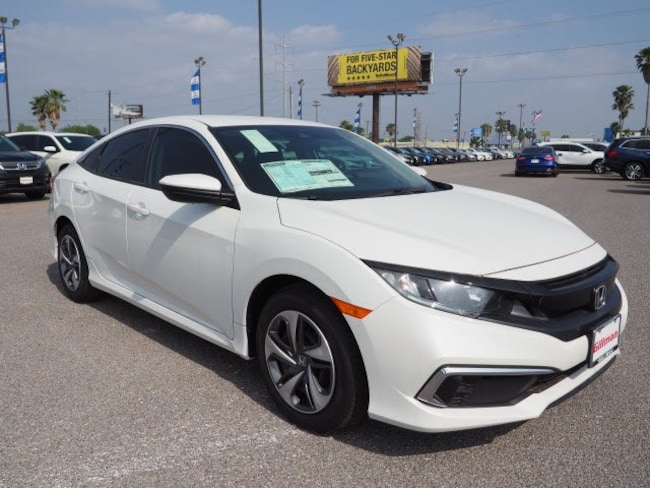 New  2019 Honda Civic LX Sedan near Harlingen, TX