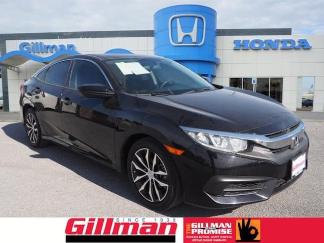Used 2016 Honda Civic LX Sedan near Harlingen, TX