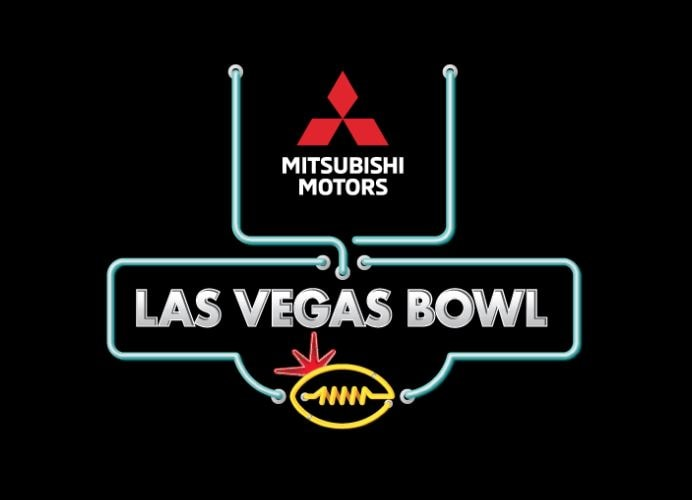 mitsubishi brand is the title sponsor of this year's las vegas bowl