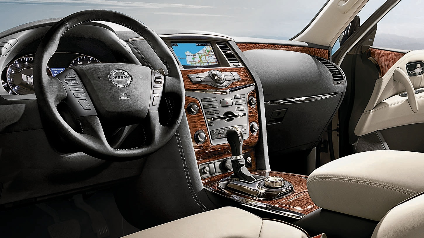 Nissan Armada Interior near Houston