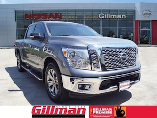 Certified Pre-Owned 2017 Nissan Titan SV SWB 2WD Crew Cab Pickup E180339A in Rosenberg, TX