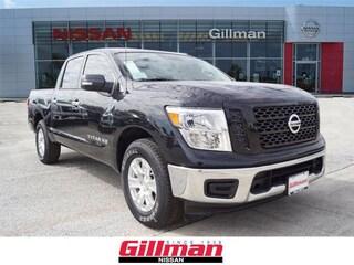 New 2019 Nissan Titan SV Truck Crew Cab in Rosenberg, TX