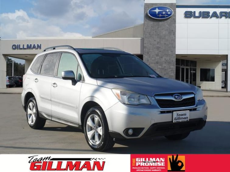 Used 2014 Subaru Forester 2.5i Limited SUV S191124A Houston