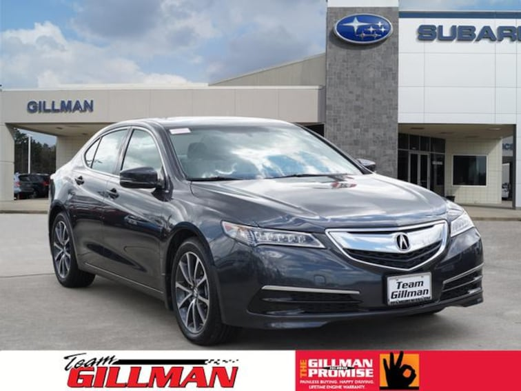 Used 2016 Acura TLX V6 Sedan S181846A Houston