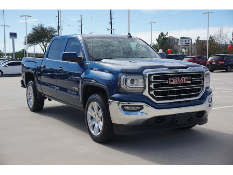 Used 2016 GMC Sierra 1500 SLE Truck Crew Cab S190815B Houston