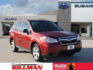 Certified Pre-Owned  2015 Subaru Forester 2.5i SUV S190885A in Houston, TX