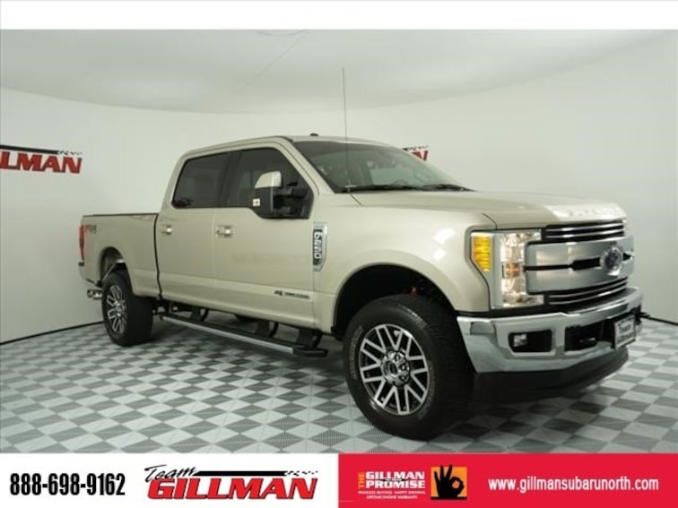 Used 2017 Ford Super Duty F-250 SRW Lariat 4X4 Leather Panoroof Navigation Pickup Truck S191820A Houston