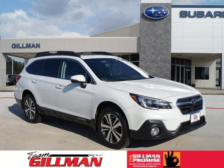 Used 2018 Subaru Outback 2.5i Limited SUV S181965A Houston