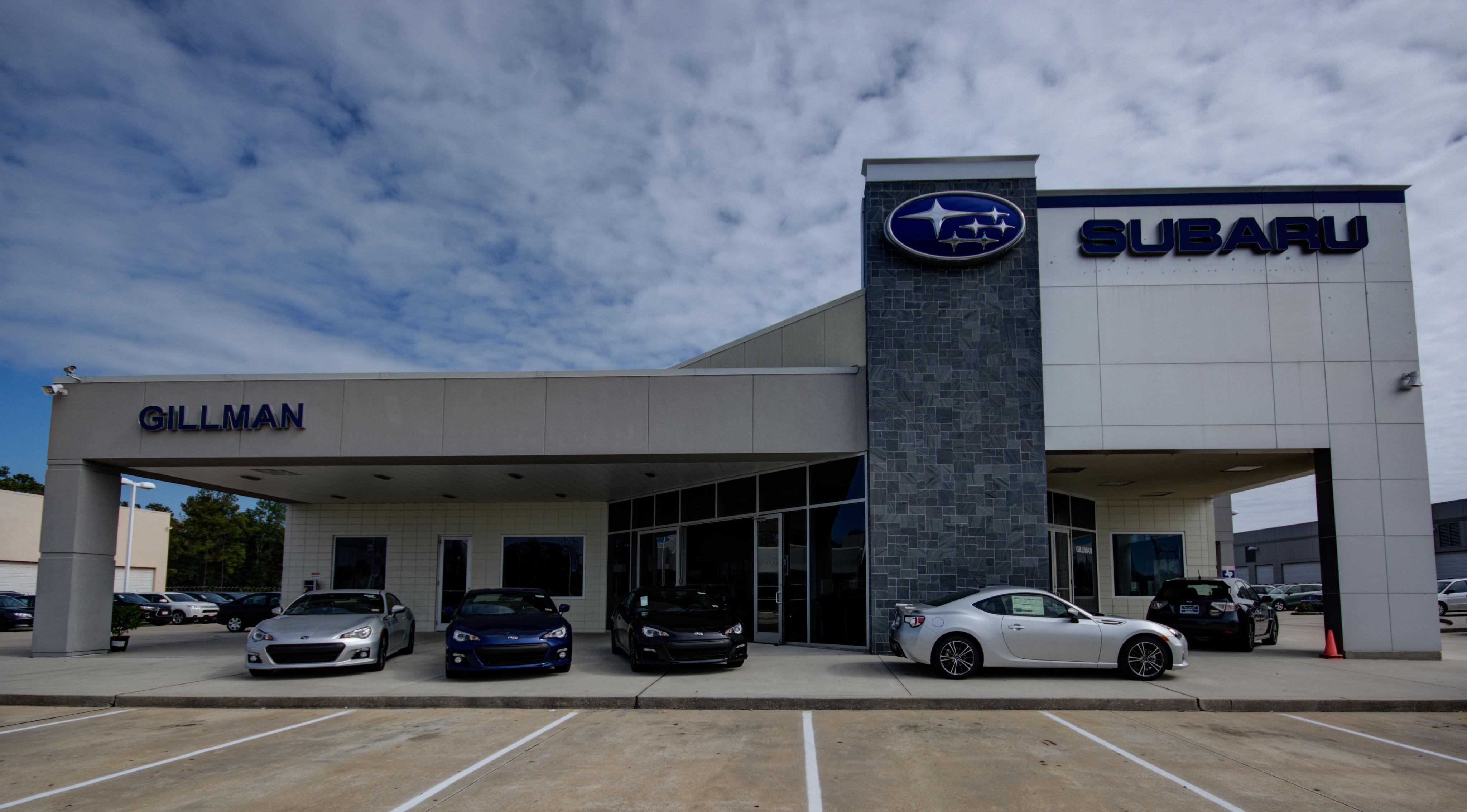 Gillman Subaru North New Used Car Dealership In Houston Tx