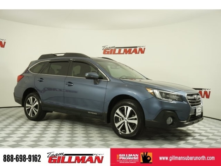Used 2018 Subaru Outback Limited Leather Interior Harmon Kardon Sunroof Aud SUV S191252D Houston