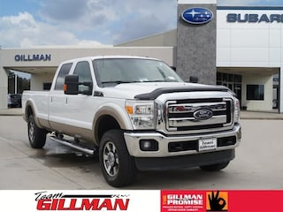 Used 2014 Ford F-250 Lariat Truck Crew Cab S191102A in Houston, TX
