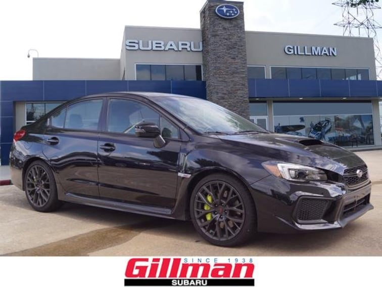 New 2018 Subaru WRX STI Limited with Lip Sedan For Sale in Houston, TX