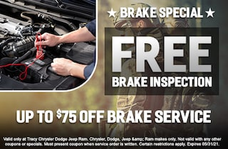 Brake Special FREE Brake Inspection Up to $75 Off