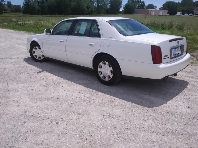 Used 2001 Cadillac Deville For Sale at Gjovik Ford Inc