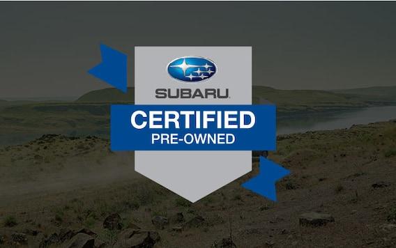 Subaru Certified Pre-Owned >> Certified Subaru Pre Owned Program Glanzmann Subaru