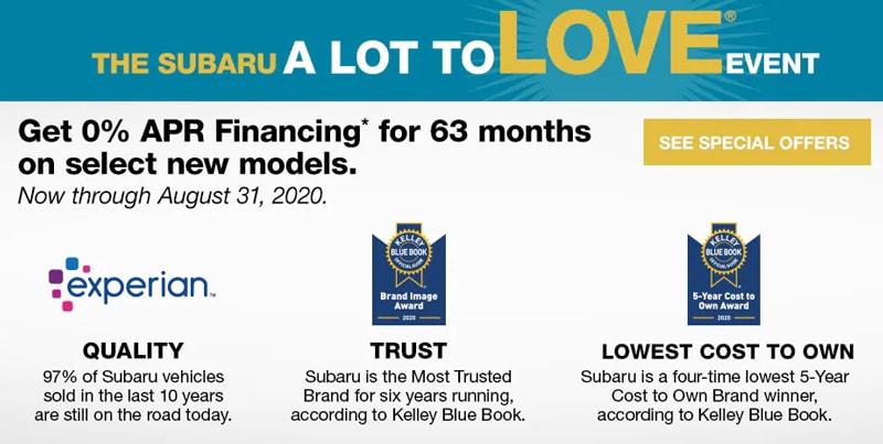 The Subaru A Lot to Love Event near Detroit MI