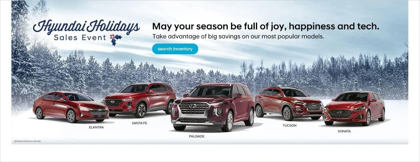 Hyundai Holidays Sales Event near Waterford MI