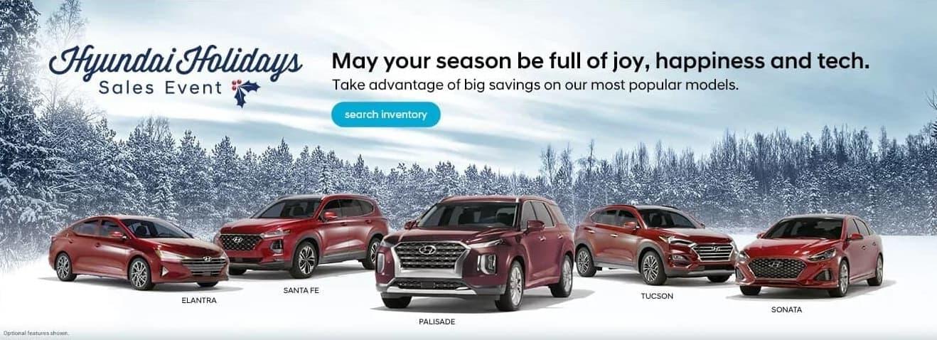 Hyundai Holidays Sales Event in Southfield MI