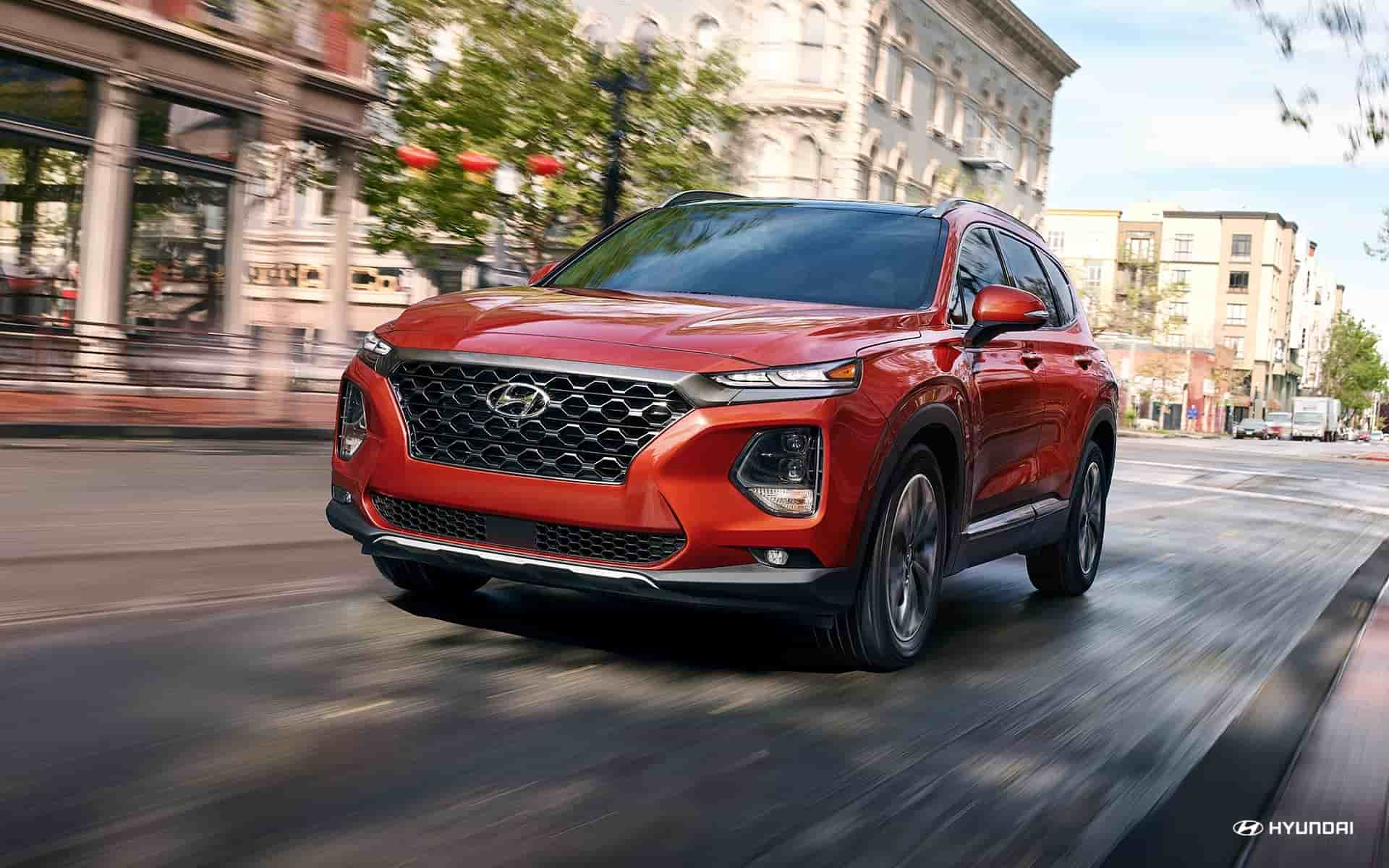 Lease the 2020 Hyundai Santa Fe near Detroit MI