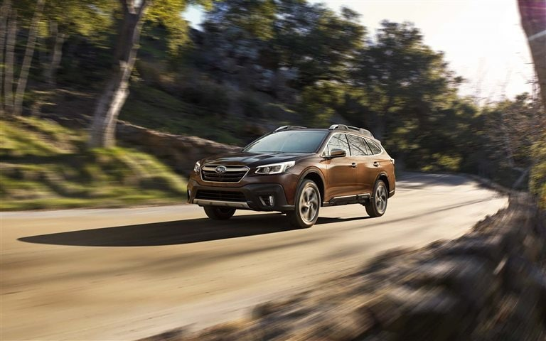 Welcome the new 2021 Subaru Outback with updated technology near Warren MI