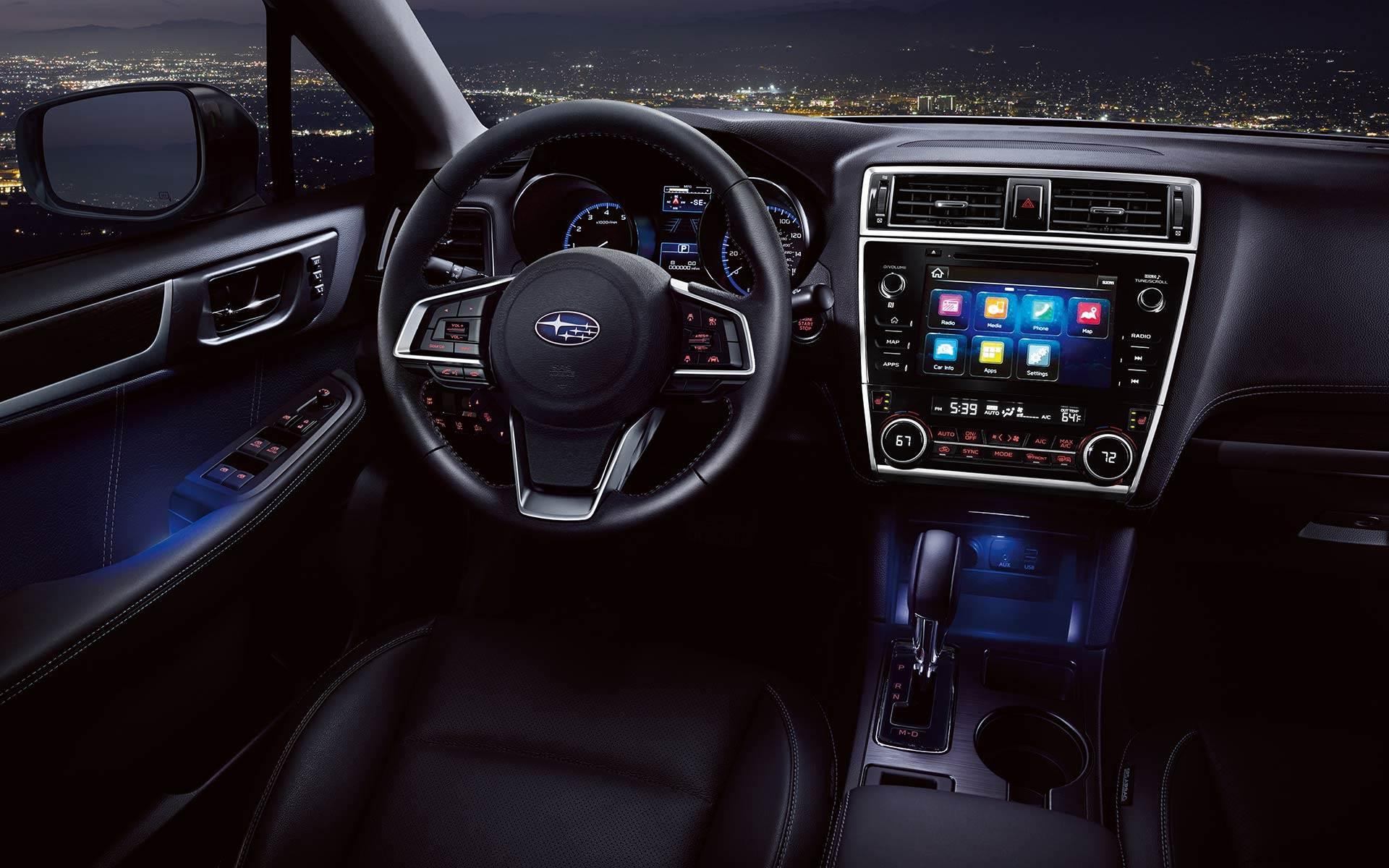 Interior - 2018 Subaru Legacy by Ferndale MI | Glassman Subaru