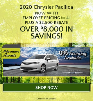 2020 Chrysler Pacifica - April Offer