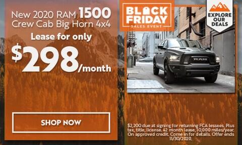2020 Ram 1500 - November Offer