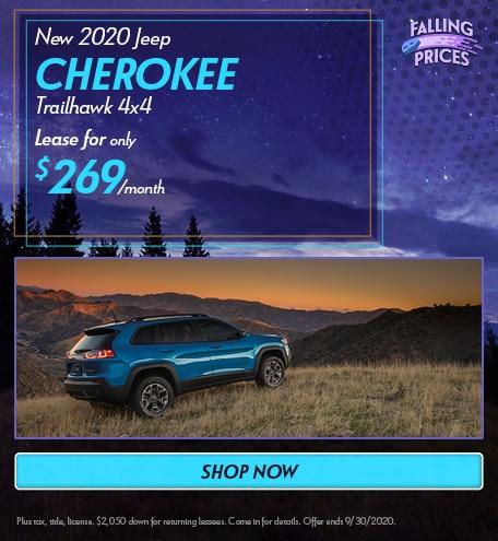 2020 Jeep Cherokee - September Offer