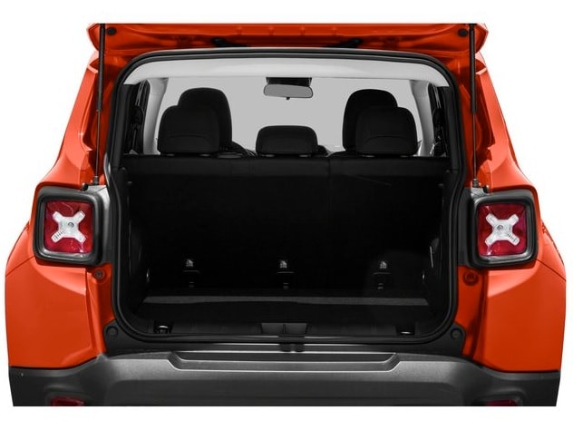jeep renegade cargo space
