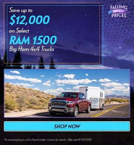 2020 Ram 1500 - September Offer