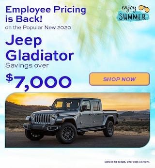 2020 Jeep Gladiator - June Offer