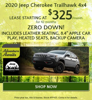 2020 Jeep Cherokee - April Offer