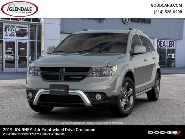 New 2019 Dodge Journey CROSSROAD For Sale in St  Louis, MO | 3K4000