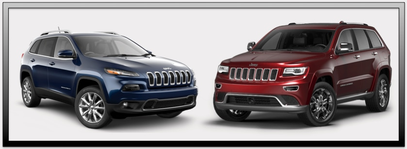 jeep cherokee vs grand cherokee st louis mo glendale jeep. Black Bedroom Furniture Sets. Home Design Ideas
