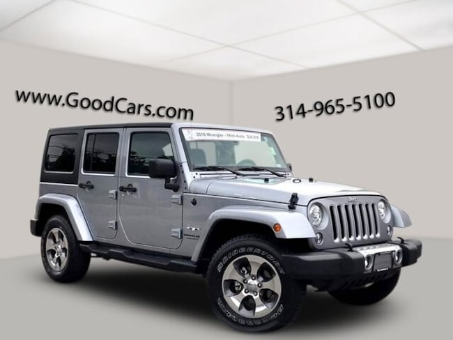 Used 2018 Jeep Wrangler JK Unlimited Sahara SUV in St, Louis