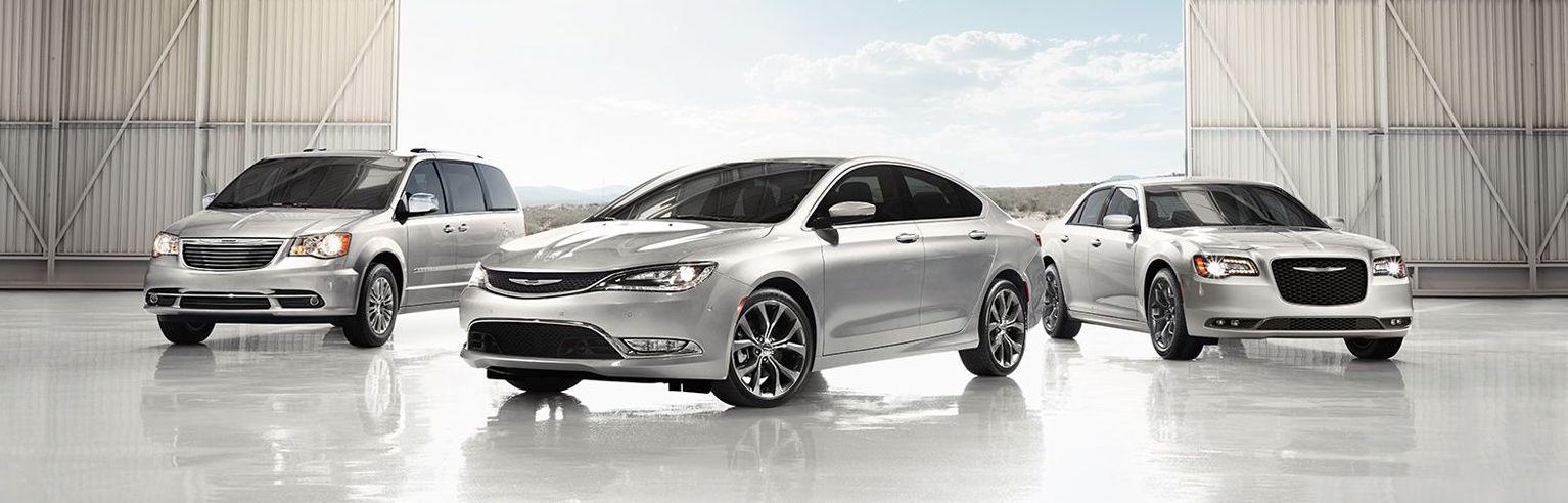 2016 Chrysler Model Lineup